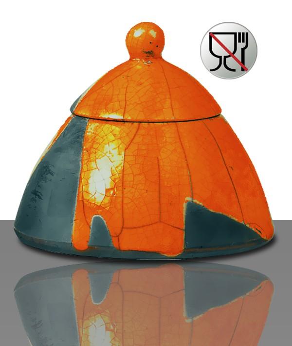 Raku-Glasur RS 1169 Orange