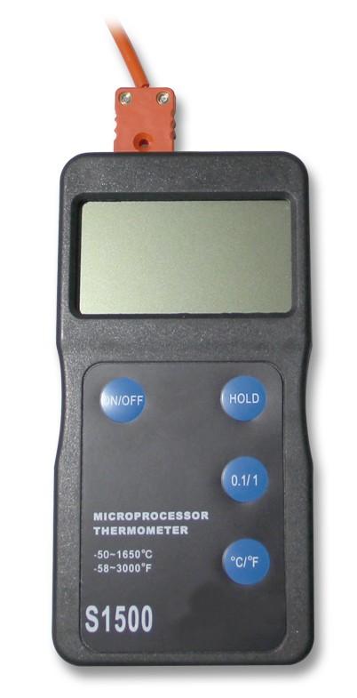 Digitalpyrometer S 1500 (PtRh-Pt) Type S