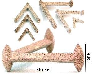 Sortiment Dreifüße Tripod | ca. 50 St. 01-05 gemischt