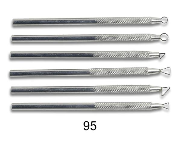 Modellierschlingen 95 - Set 6 Stck.
