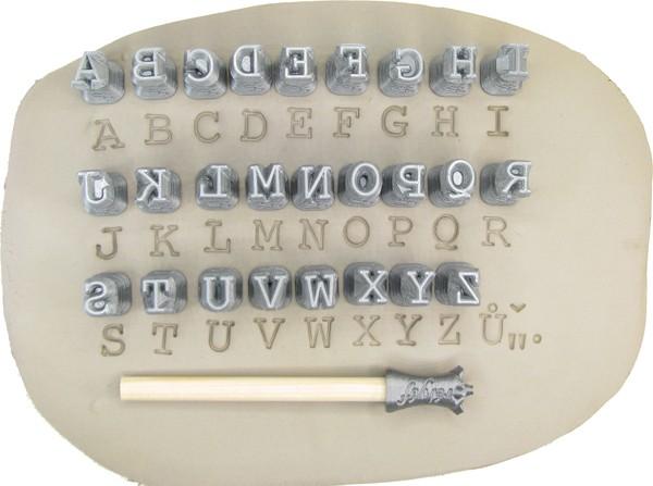 Stempel-Satz ABC