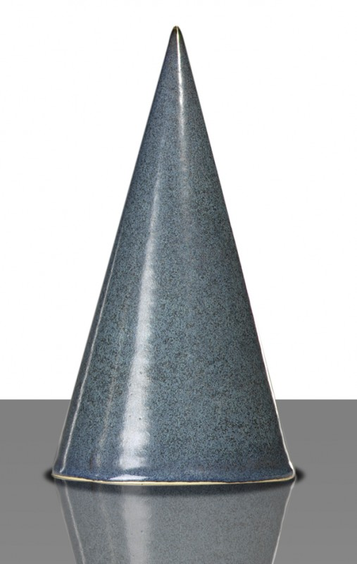 Glasur 1267a Blaugrau, seidenmatt