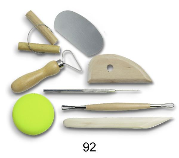 Töpferwerkzeug Set 92 - 8 St.