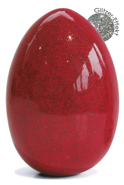 Flüssigglasur 04709 Glitzer-Effekt Rot, glänzend