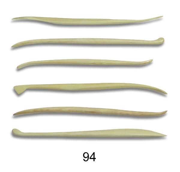 Mini- Modellierhölzer 94 -Set 6 St.