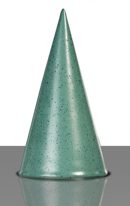 Flüssigglasur 1275a Blaugrün gesprenkelt, seidenmatt