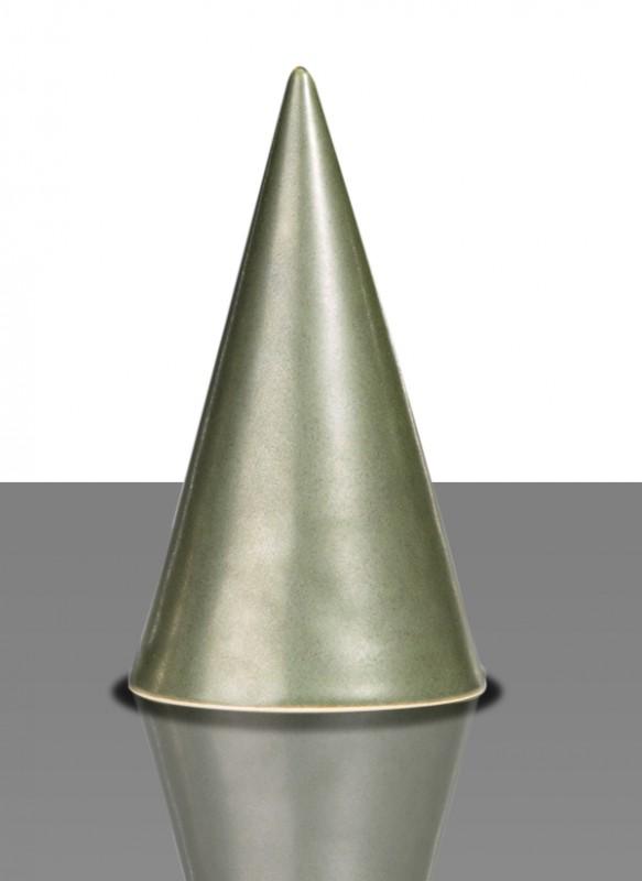 Glasur 1137a Kupfergrün, seidenmatt